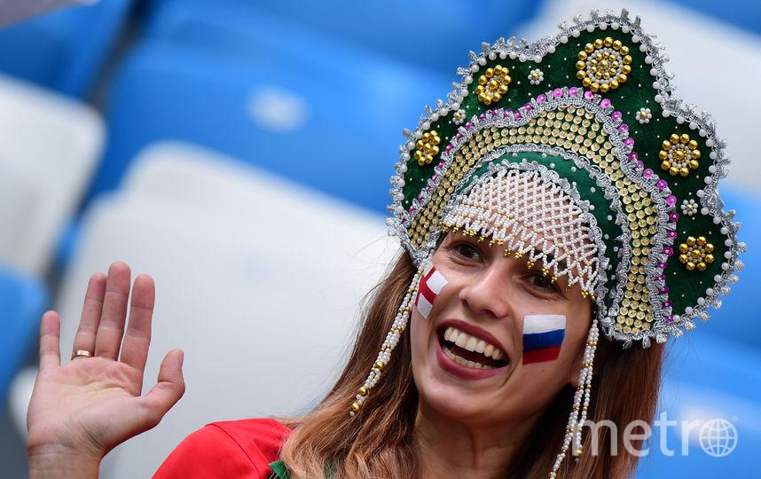 Болельщицы матча Англия – Панама. Фото AFP