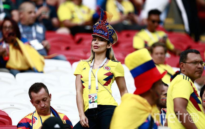 Болельщица матча Польша – Колумбия. Фото AFP