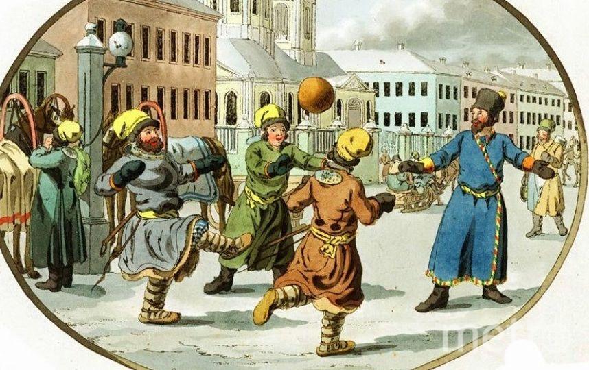 """Гравюра называется Das Ballspiel (""""Игра с мячом"""")."""