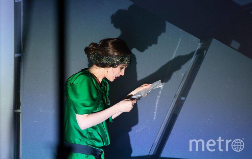 Ирина Медведева (Лиля Брик). Фото предоставлено пресс-службой театра