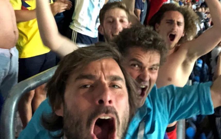 Без ума от Месси: Как аргентинцы болели за сборную. Фото Скриншот Instagram: @ronfil