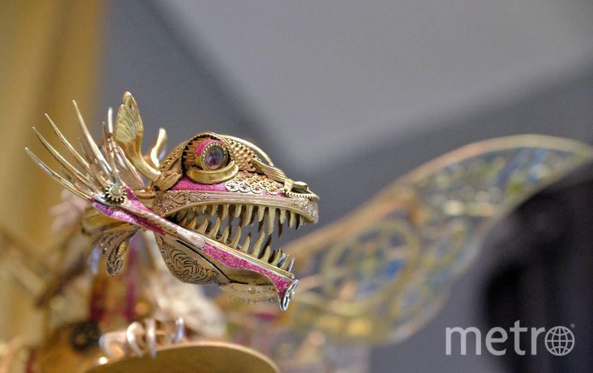 """Над арт-объектом «Дракон. Течение времени» авторы работали около года. Фото Алена Бобрович, """"Metro"""""""