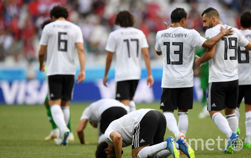 Сборная Египта по футболу. Фото Getty