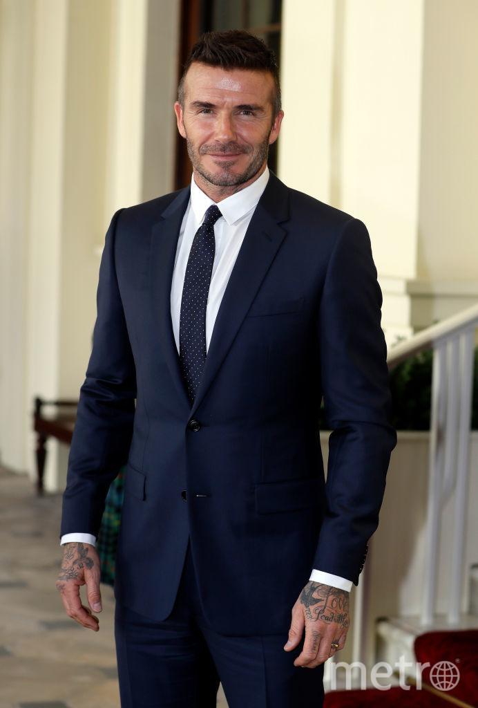 Дэвид Бекхэм на приёме в Букингемском дворце. Фото Getty