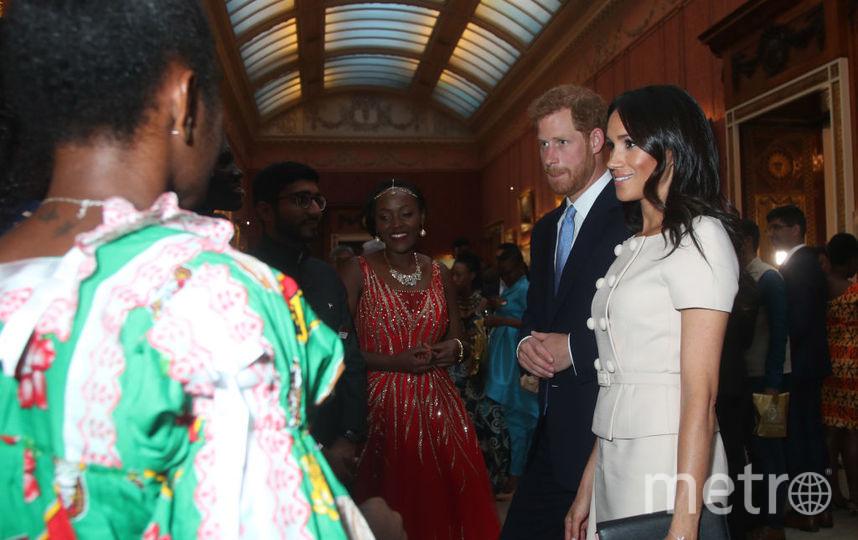 На приёме в Букингемском дворце. Фото Getty
