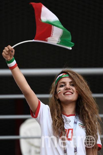 Болельщица матча Иран – Португалия. Фото AFP
