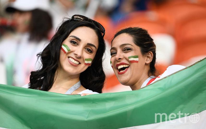 Болельщицы матча Иран – Португалия. Фото AFP