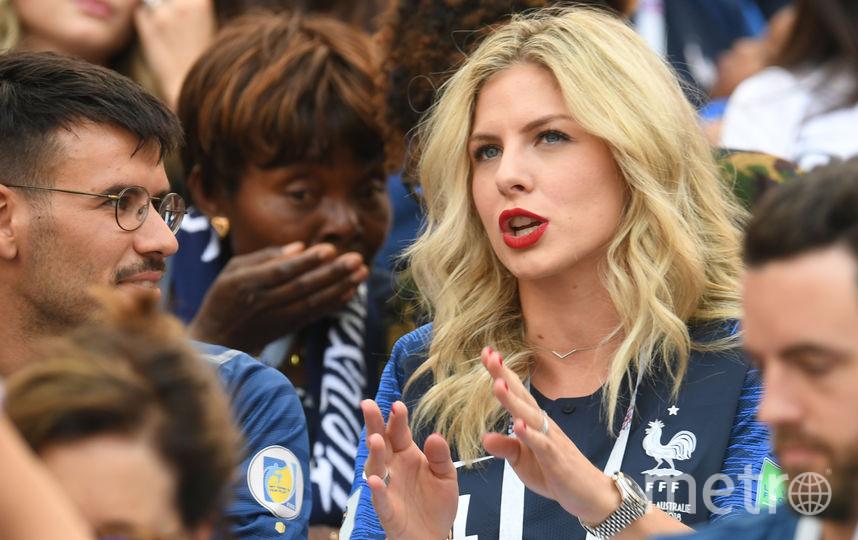 Болельщица матча Дания – Франция. Фото AFP