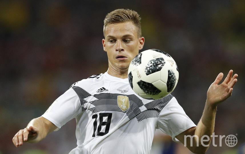 Защитник сборной Германии Джошуа Киммих считает, что новые технологии позволяют ему развиваться. Фото AFP