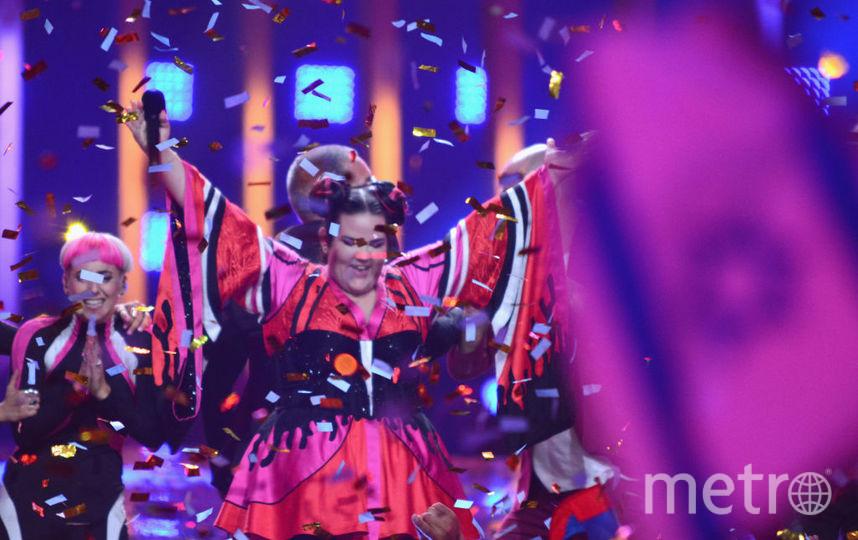 Нетта Барзилай на Евровидении. Фото Getty