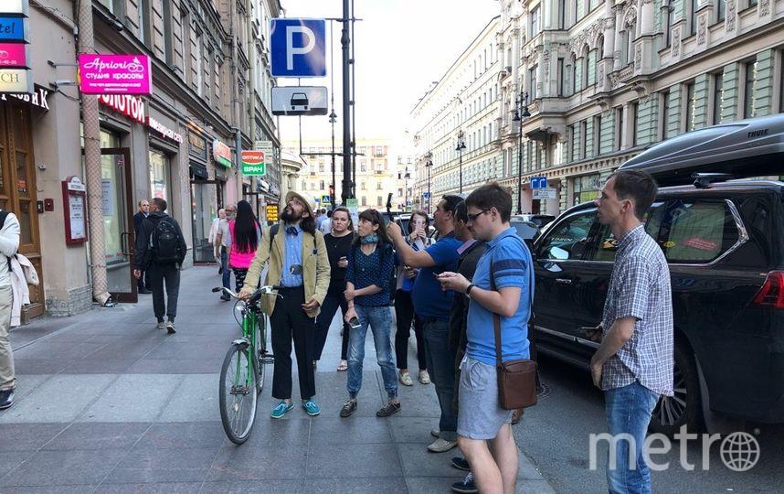 Активисты Петербурга провели рейд по выявлению незаконной рекламы. Фото Красивый Петербург, Предоставлено организаторами