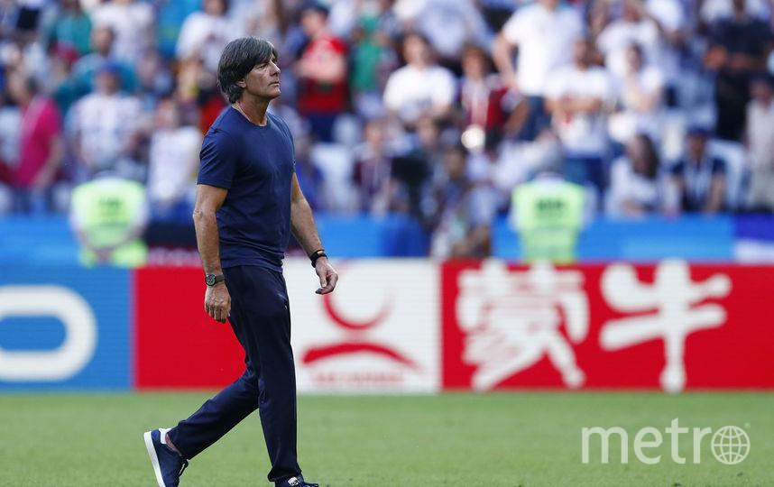 Тренер сборной Германии Йоахим Лёв. Фото AFP
