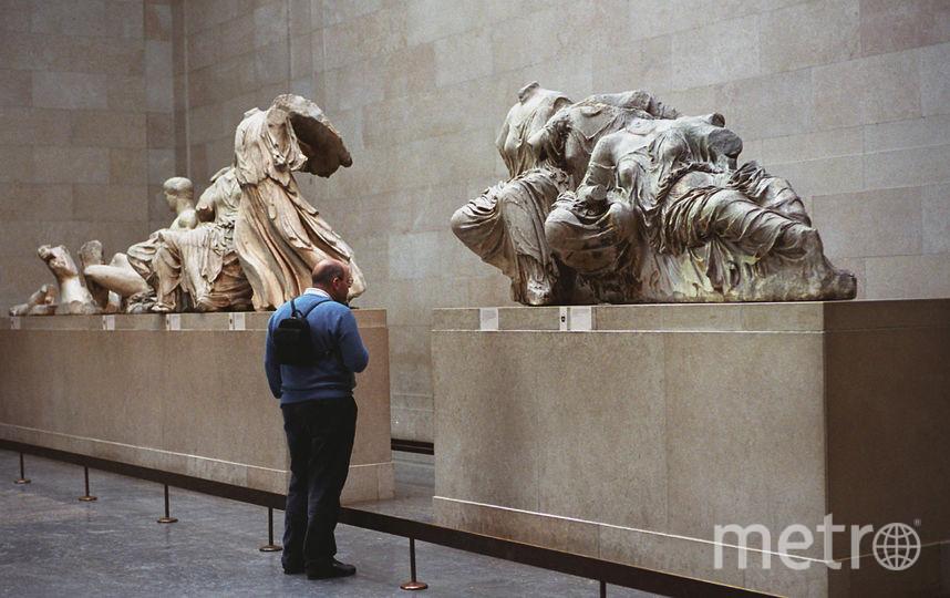 Британская сторона требования Ципраса вернуть скульптуры пока не прокомментировала. Фото Getty