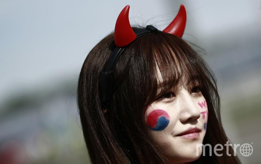 Болельщица матча Южная Корея – Германия. Фото AFP