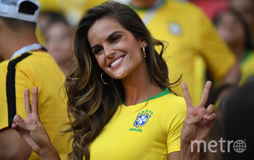 Бразильская модель Изабель Гулар (ангел Victoria's Secret). Фото AFP