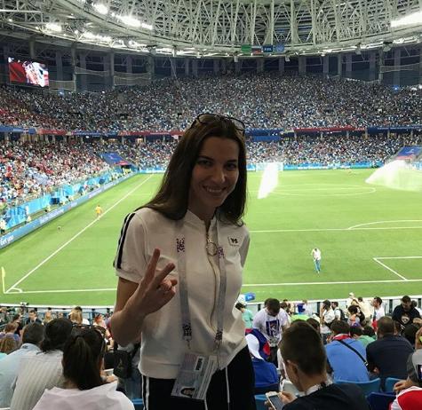 Болельщица матча Швейцария – Коста-Рико. Фото Instagram/alena_no