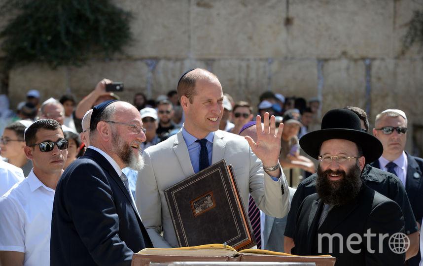 Принц Уильям в Иерусалиме. Фото Getty