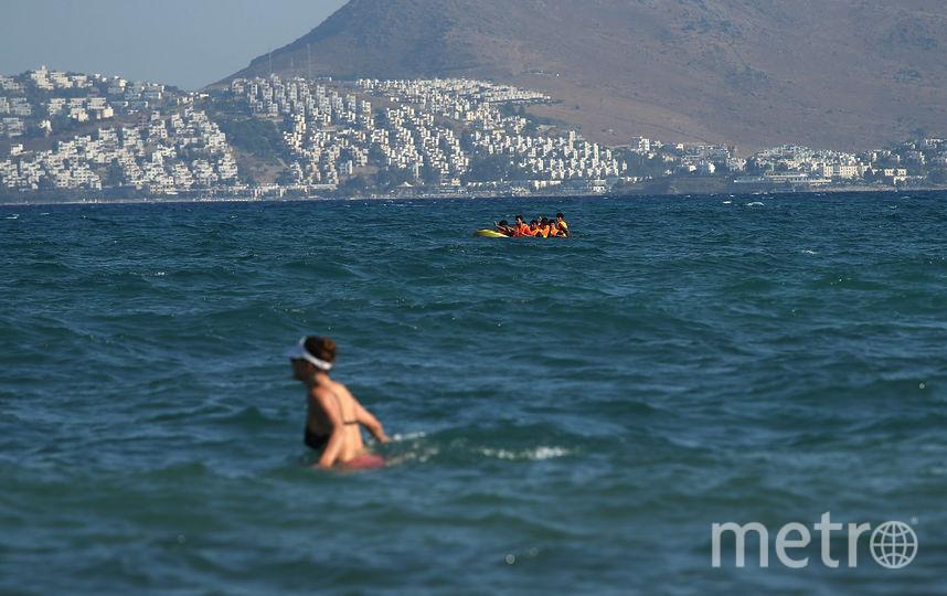 Один из греческих пляжей. Фото Getty