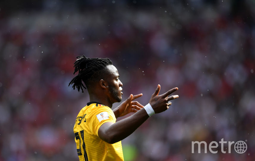 Нападающий сборной Бельгии Миши Батшуайи в матче с Тунисом забил гол.. Фото Getty