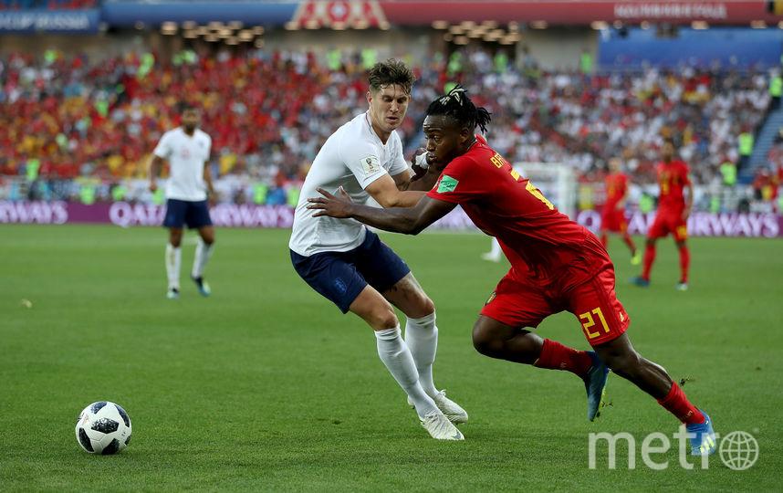 Нападающий сборной Бельгии Миши Батшуайи. Фото Getty