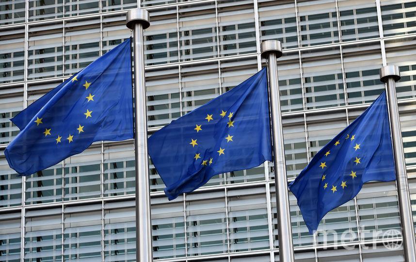 Флаги ЕС. Фото Getty