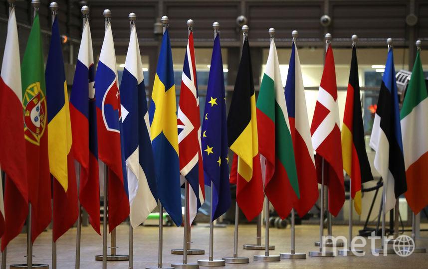 Флаги стран ЕС. Фото Getty