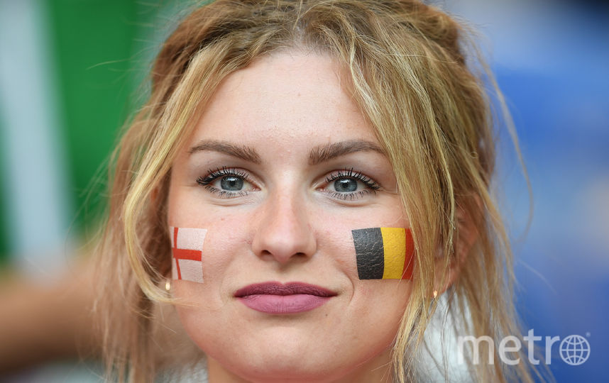 Болельщица матча. Фото AFP