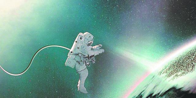 Необычный спектакль посвящён космической тематике.