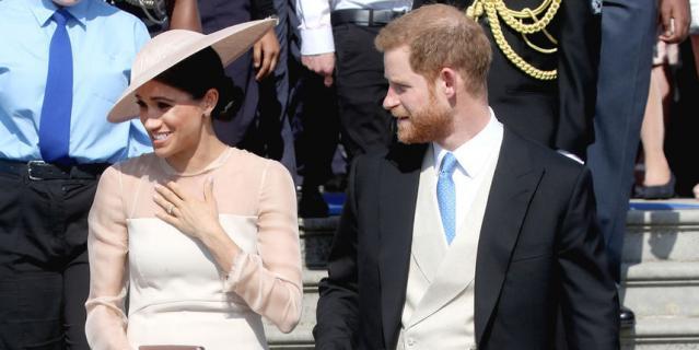 Меган Маркл и принц Гарри.