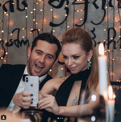 Александр Кержаков и Милана Тюльпанова. Фото www.instagram.com/milana_kerzhakova