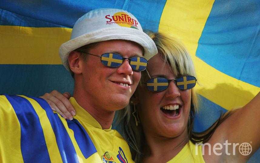 Шведские болельщики. Фото Getty