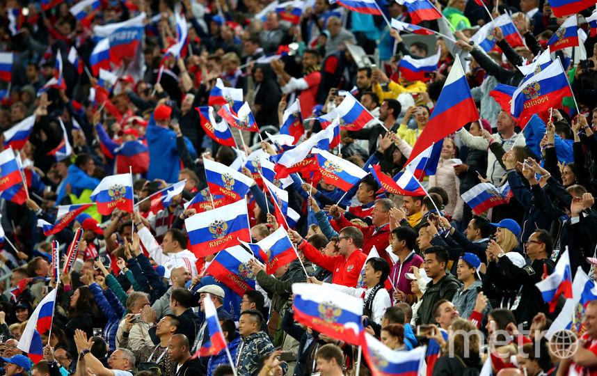 Болельщики обеспечили сборной яркую поддержку на групповом этапе. Фото Getty