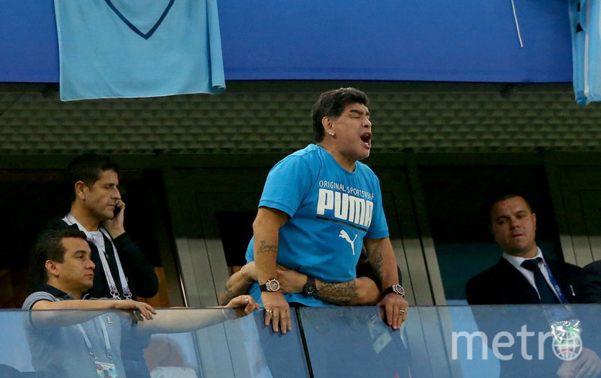 Диего Марадона, фотоархив. Фото Getty