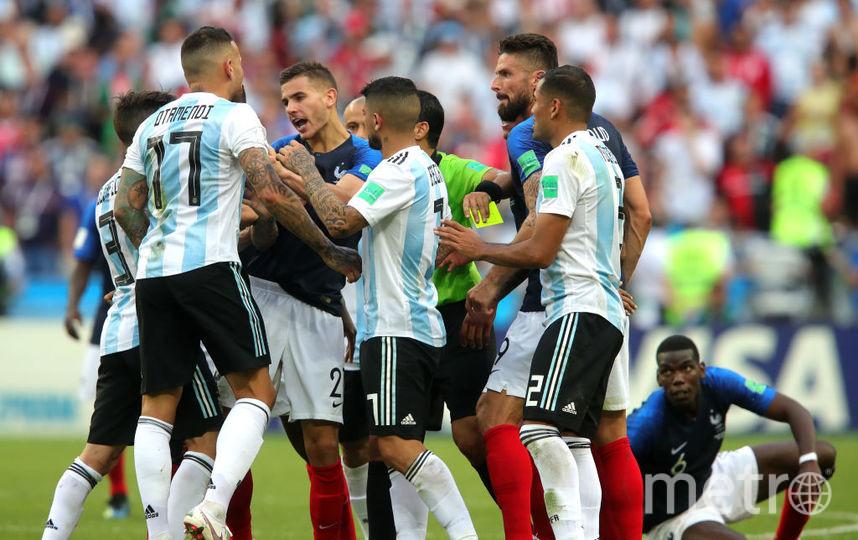 Матч Аргентина - Франция в Казани, фотоархив. Фото Getty