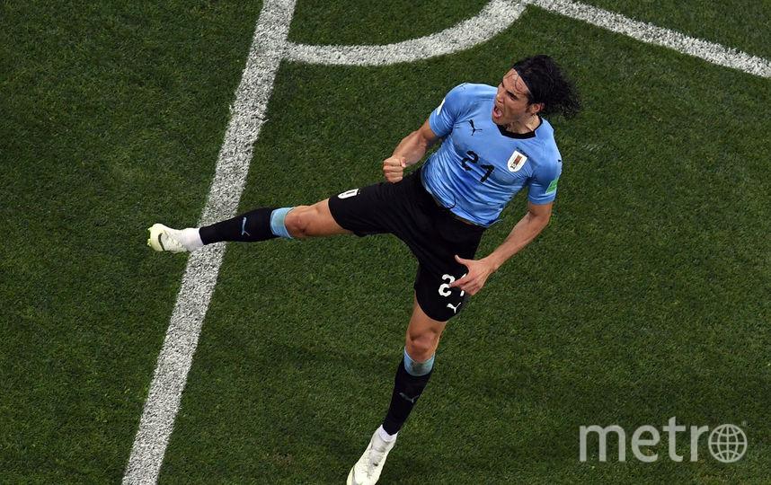 Эдинсон Кавани забил два мяча. Фото AFP