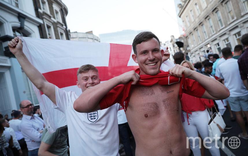 Английские болельщики веселились в Калининграде. Фото Getty