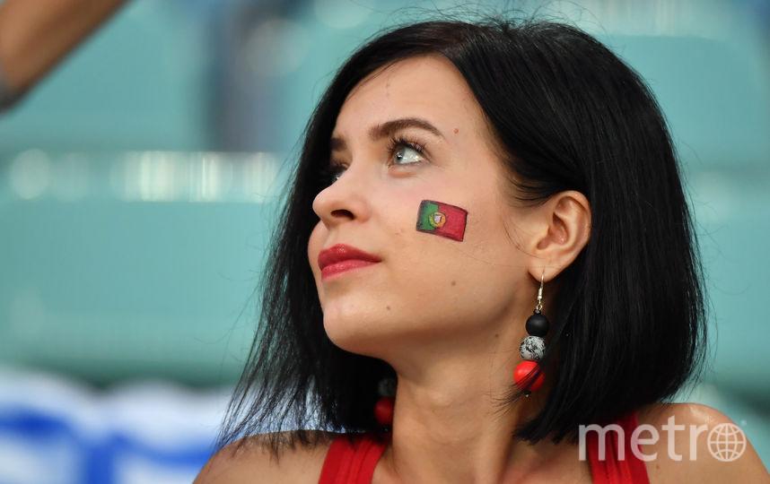 Болельщица матча Уругвай – Португалия. Фото AFP