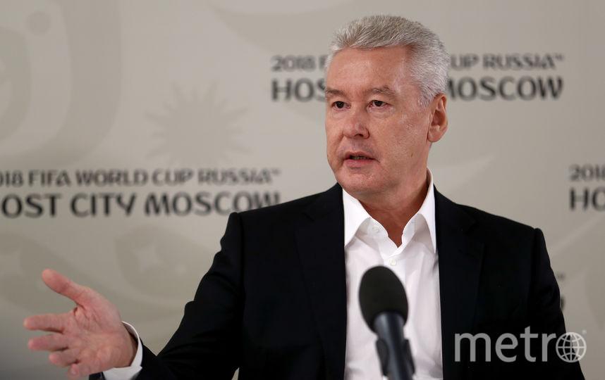 Мэр Москвы Сергей Собянин. Фото Getty
