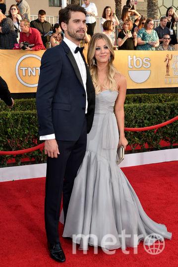 Кейли Куоко и её первый муж Райан Свитинг. Фото Getty