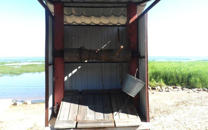 """Выход к Финскому заливу в поселке Лебяжье. Фото """"Metro"""""""