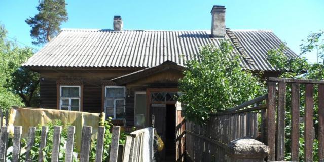 Дом постройки второй половины XIX века в Лоцманском поселении.