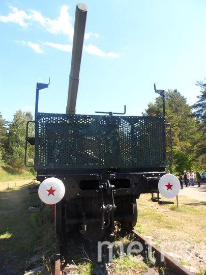 """Сверхтяжелая железнодорожная артиллерийская система ТМ - 3 -12. Фото """"Metro"""""""