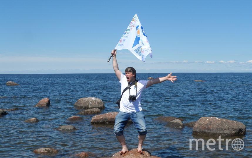 """Экспедиция """"Открывая Ленобласть"""" добралась до пляжа в деревне Шепелево. Фото """"Metro"""""""