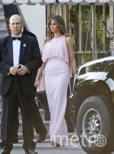 Розовый и его оттенки нередко можно встретить в гардеробе первой леди США. Фото Getty