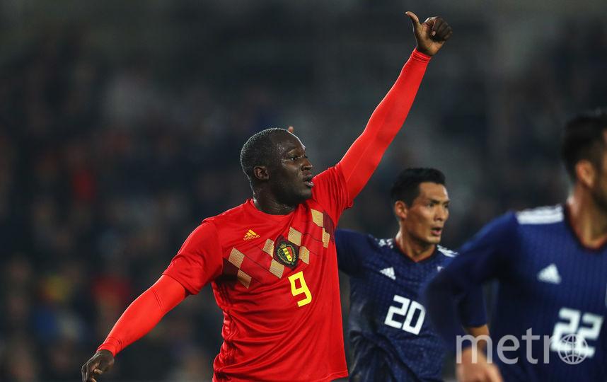 Нападающий сборной Бельгии Ромелу Лукаку. Фото Getty