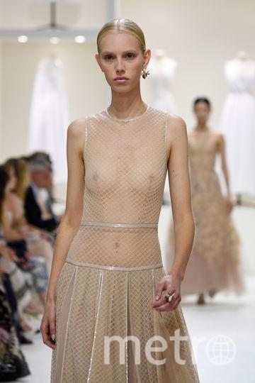 Показ Christian Dior на Неделе высокой моды в Париже. Фото Getty