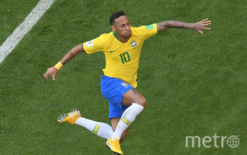 Футболист сборной Бразилии Неймар. Фото AFP