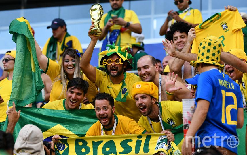 Фанаты сборной Бразилии. Фото AFP