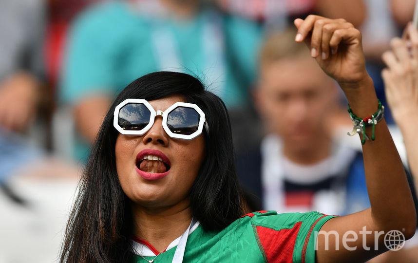 Болельщица матча Бразилия – Мексика. Фото AFP