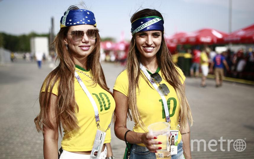 Болельщицы матча Бразилия – Мексика. Фото AFP